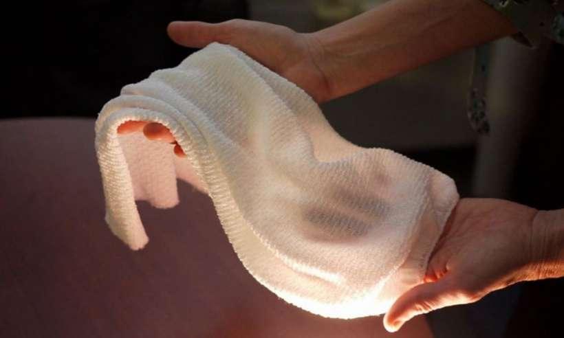 Inteligentna tkanina sama reaguje na warunki otoczenia