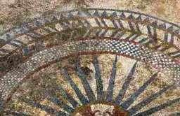 Mozaika z zaginionego rzymskiego miasta Ucetia