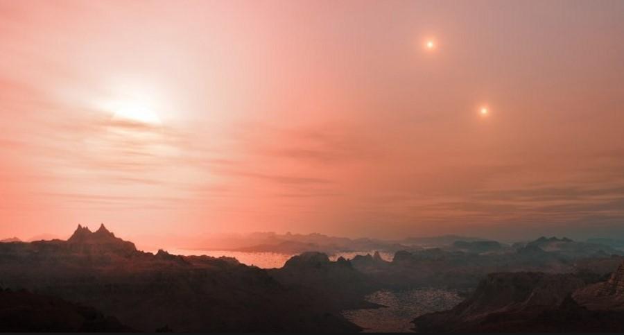 Planeta w systemie LTT 1445 ma trzy słońca