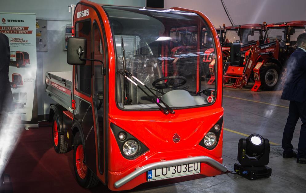 Elektryczny samochód dostawczy od Ursusa