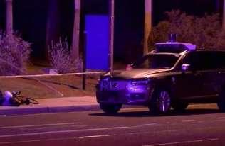 Wypadek z udziałem pojazdu autonomicznego