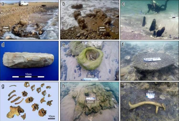 Wał morski sprzed 7 tysięcy lat