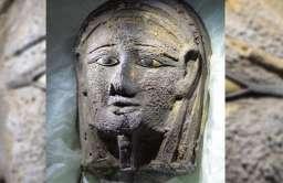 Maska kapłana bogini Mut