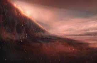 WASP-76b - planeta, gdzie padają deszcze rozpalonego żelaza