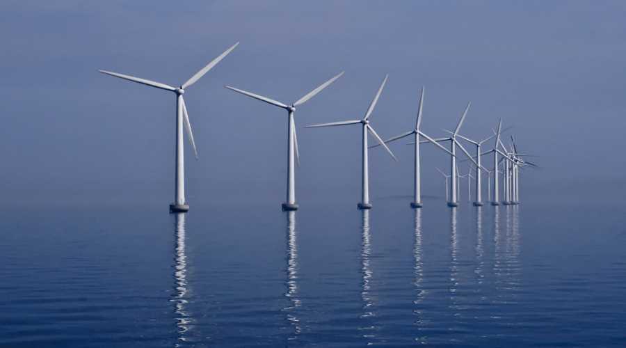 Turbiny wiatrowe na morzu