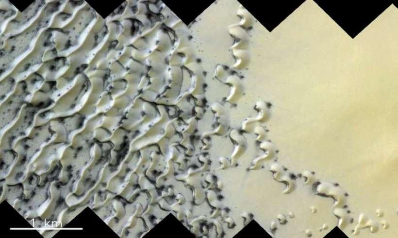 ESA pokazała, jak wygląda wiosna na Marsie