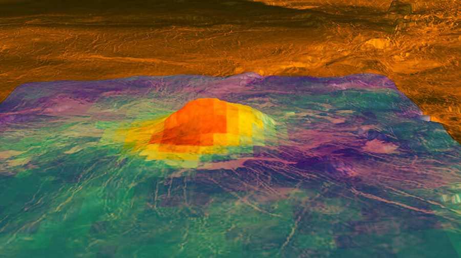 Wulkany na Wenus mogą być nadal aktywne
