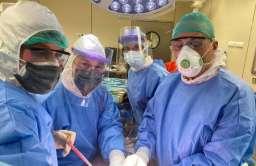 Pierwszy w Polsce przeszczep wątroby u chorej zakażonej wirusem SARS-CoV-2