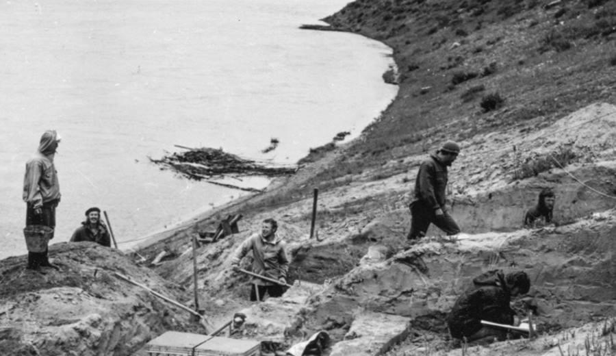 wykopaliska archeologiczne nad Bajkałem
