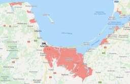 Wzrost poziomu mórz: interaktywna mapa pokazuje, które obszary są zagrożone