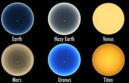 Zachody Słońca na innych planetach. Nowa symulacja NASA
