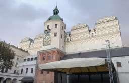 Pod Zamkiem Książąt Pomorskich w Szczecinie odkryto średniowieczny tunel