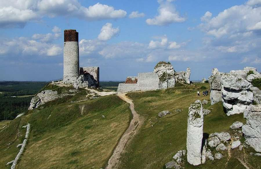 Narzędzia neandertalczyków odkryte w jaskini na zamku w Olsztynie