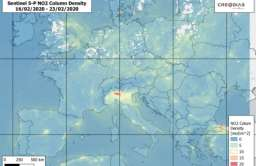 Pandemia koronawirusa. Zdjęcia satelitarne pokazują czystsze powietrze nad Europą i Chinami
