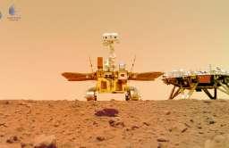 Chiny publikują nowe nagrania z Marsa