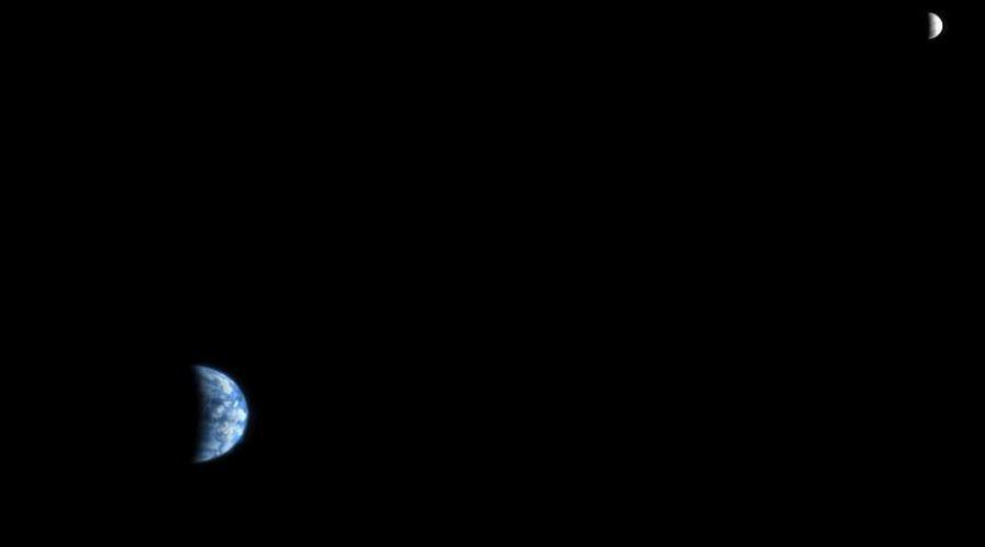 Ziemi i Księżyc