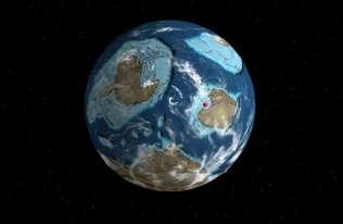 Gdzie znajdowało się twoje miasto miliony lat temu? Możesz sprawdzić to na interaktywnej mapie
