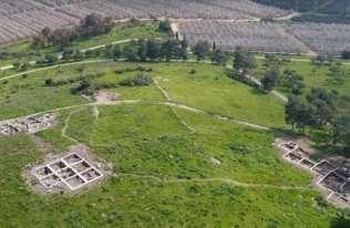 Ruiny biblijnego miasta Ziklag