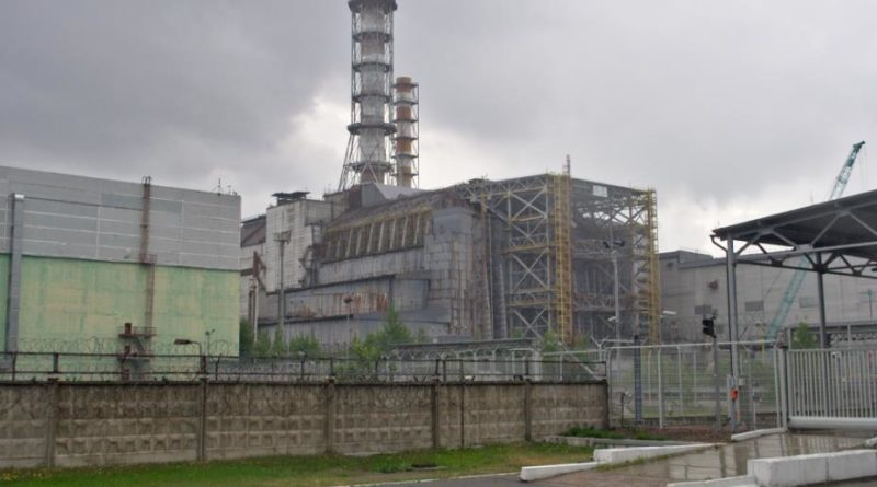 sarkofag w Czarnobylu