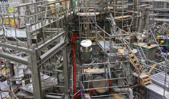 Wendelstein 7-X. Fot.Instytut Fizyki Plazmowej im.Maxa Plancka