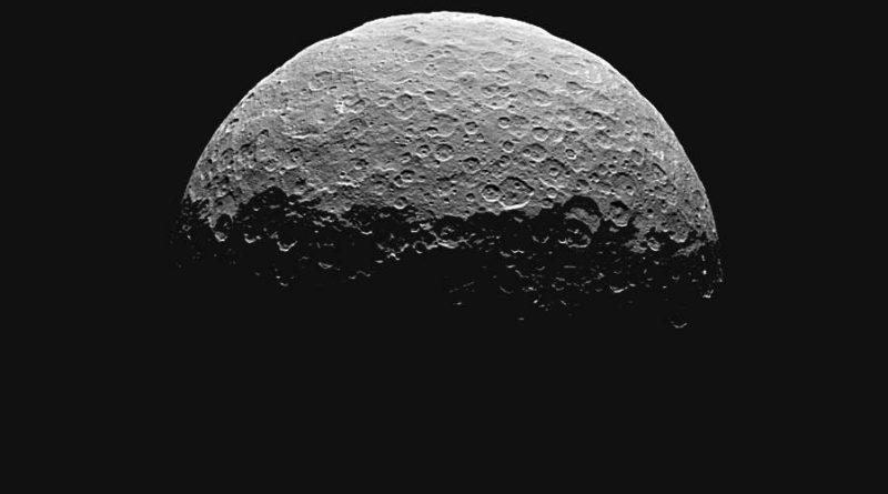 Związki organiczne na Ceres