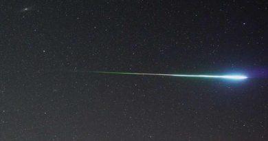 Meteoryt na Mazurach