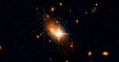 Zaobserwowano czarną dziurę wyrzuconą zeswojej galaktyki