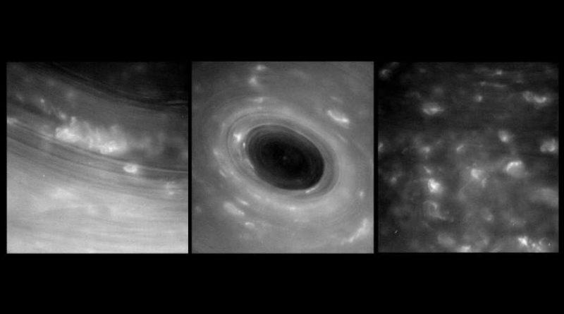 Historyczny przelot Cassini między Saturnem ajego pierścieniami