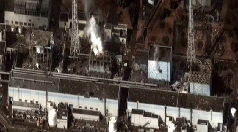 Nagranie zwnętrza reaktora wFukushimie