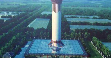 WChinach powstała 100-metrowa wieża dooczyszczania powietrza